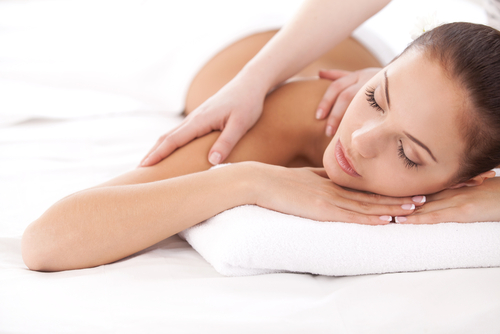 Relaxation massage at Merle Norman Kelowna