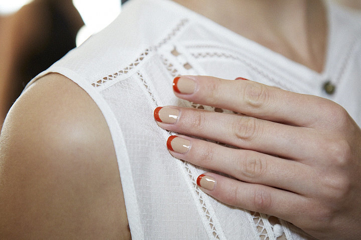 nail-art-trends-spring-2016-primary-red-color-french-tip-merle-norman