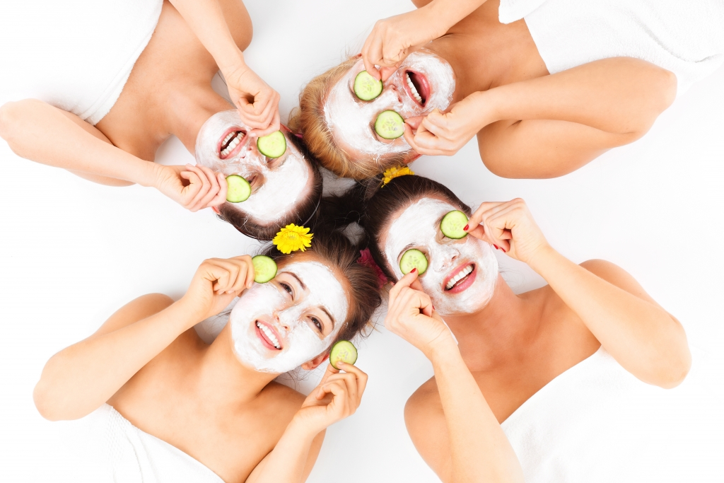 Take good care of your skin with a professional facial.